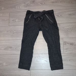 7 for all mankind wool cropped pants